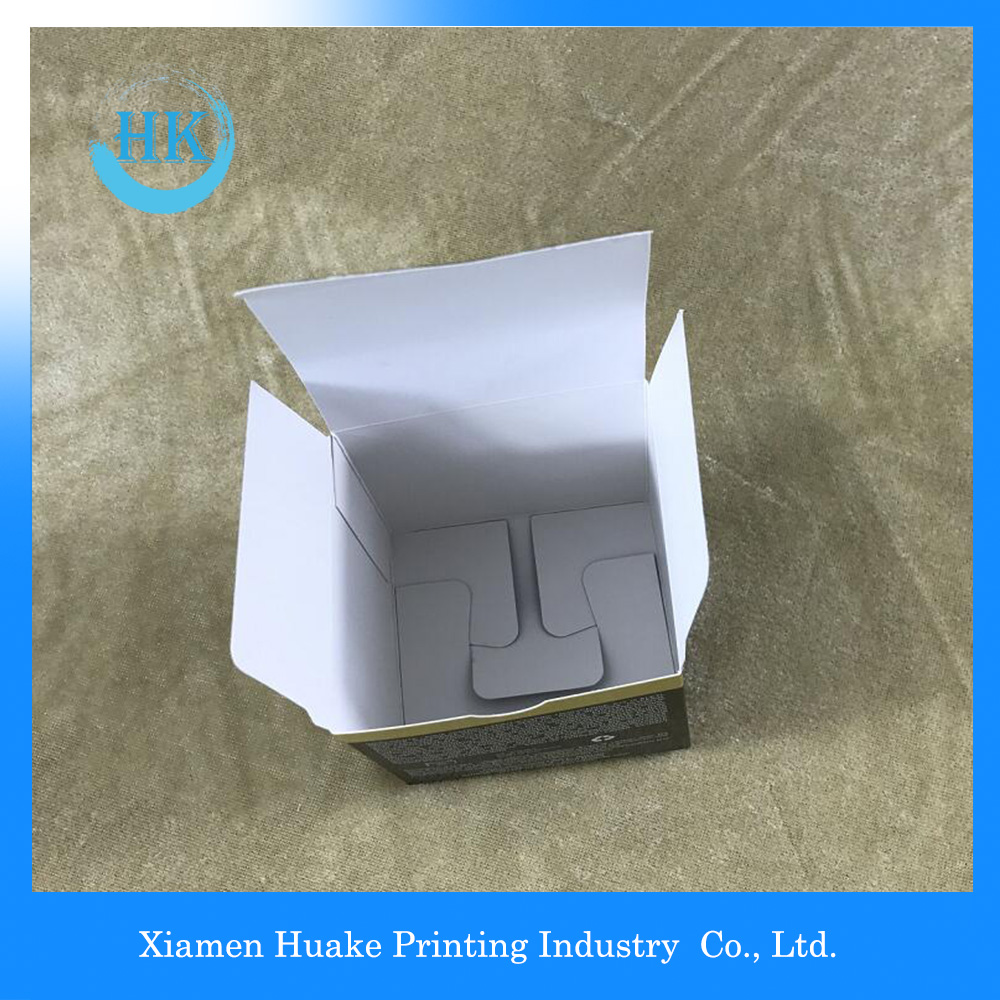 white card paper custom Box
